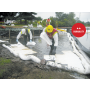 Oil Only Standard Meltblown Pads, Heavy Weight in use Chemtex PHW100 P12W