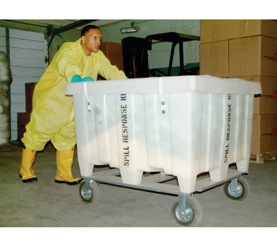 Chemtex, X-Large Spill Cart on Wheels, Oil Only, KITO1026, OILM7066