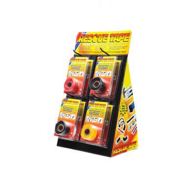 Rescue Tape Assorted Colors, Packed with Retail Display Chemtex TPE1005