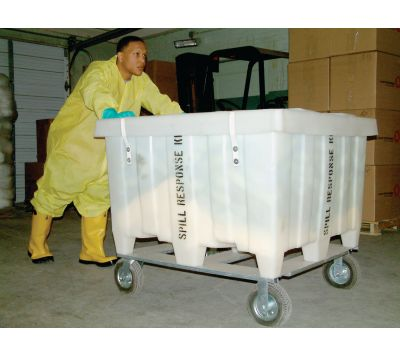 X-Large Spill Cart on Wheels, Hazmat, KITH1016, OILM7069